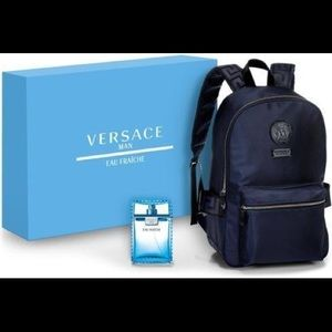 f6ab5f87e7 Versace cologne backpack gift set BOXED